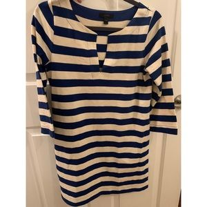 J.Crew V-neck Long Sleeve Dress